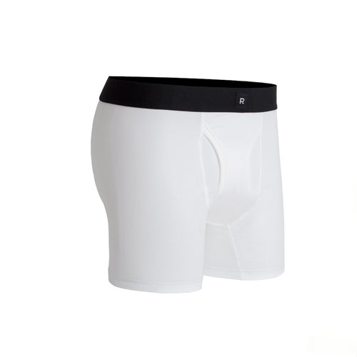 Richer Poorer - Smith Boxer Brief - White
