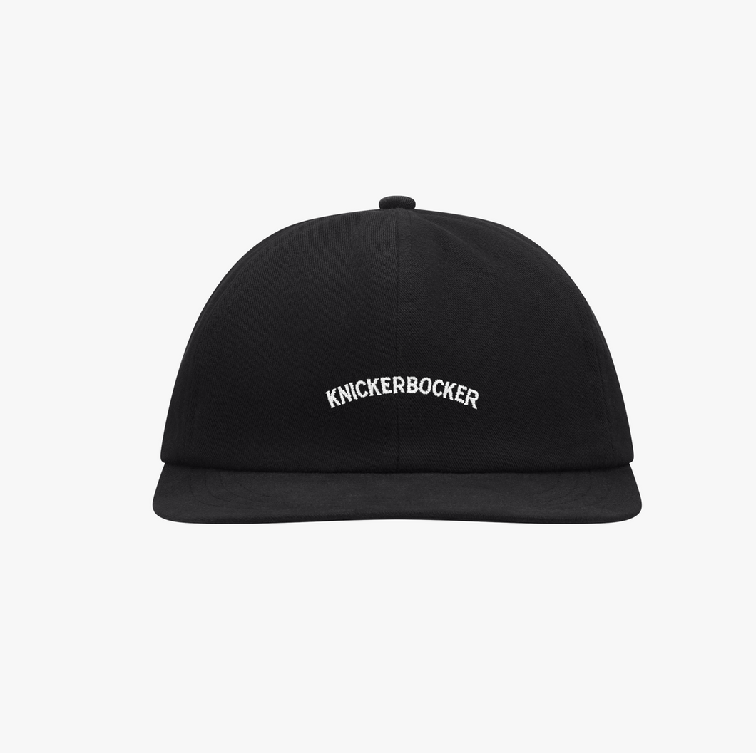 Knickerbocker - Core Logo Ball Cap - Black