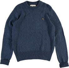 Eat Dust - Officer Sweater - Denim Blue