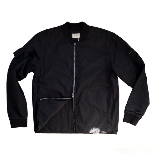 Nudie - Tor Padded Bomber - Black