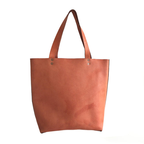 Haiti Design Co. - Tan Leather Tote