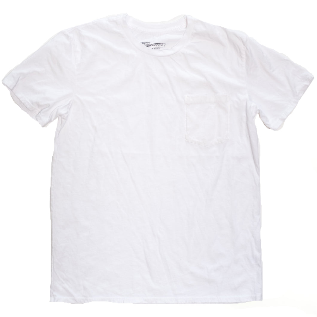 ButterScotch - Old Shop Tee - White