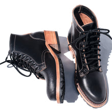 Truman Boot Co. - Nora Womens Boot - Black Waxed Flesh