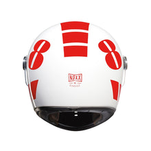 Nexx - X.G100 Racer - Billy B - White / Red