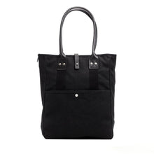 Billykirk - Waxed Canvas Commuter Tote - Black