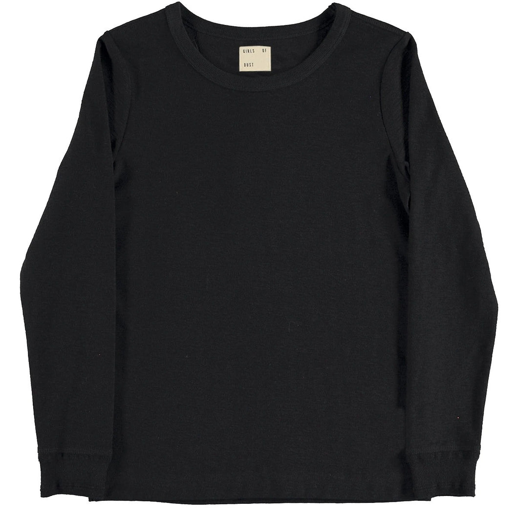 Girls of Dust - Long Sleeve Club Tee - Black
