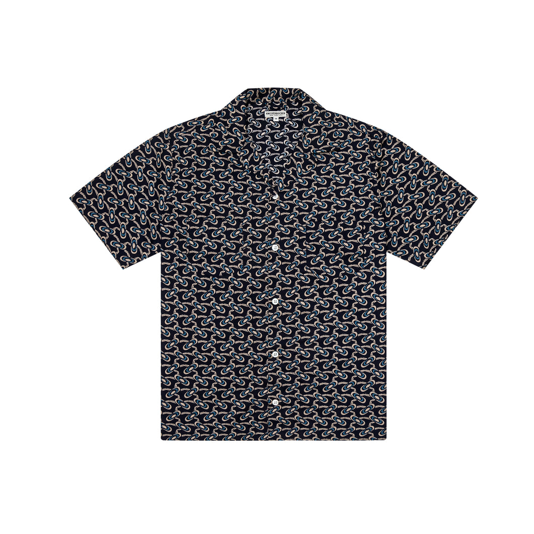 Knickerbocker - Comma Camp Shirt - Navy