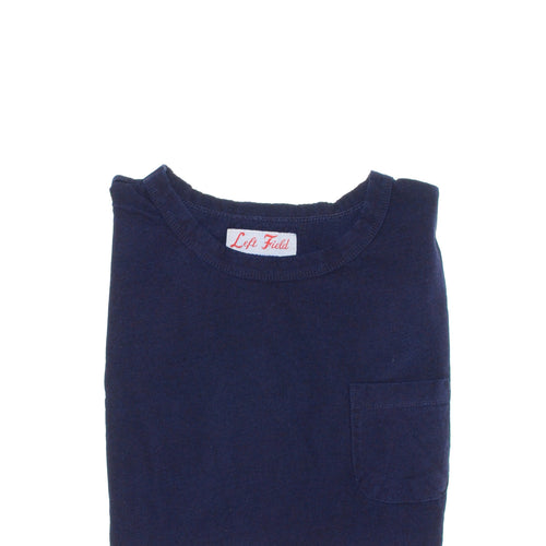 Left Field NYC - Short Sleeve Pocket Tee - Indigo