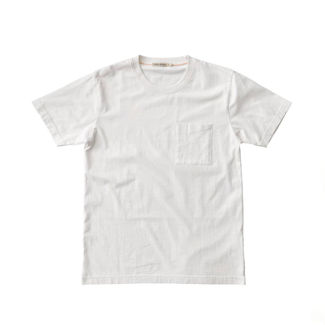 Nudie - Kurt Worker Tee - Off White