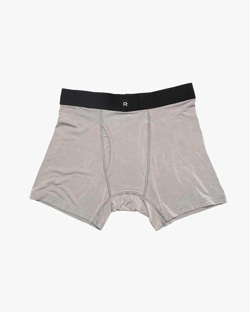 Richer Poorer - Lewis - Modal Boxer Brief - Heather Grey