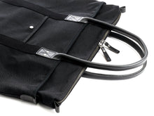 Billykirk - Large Waxed Tote - Black