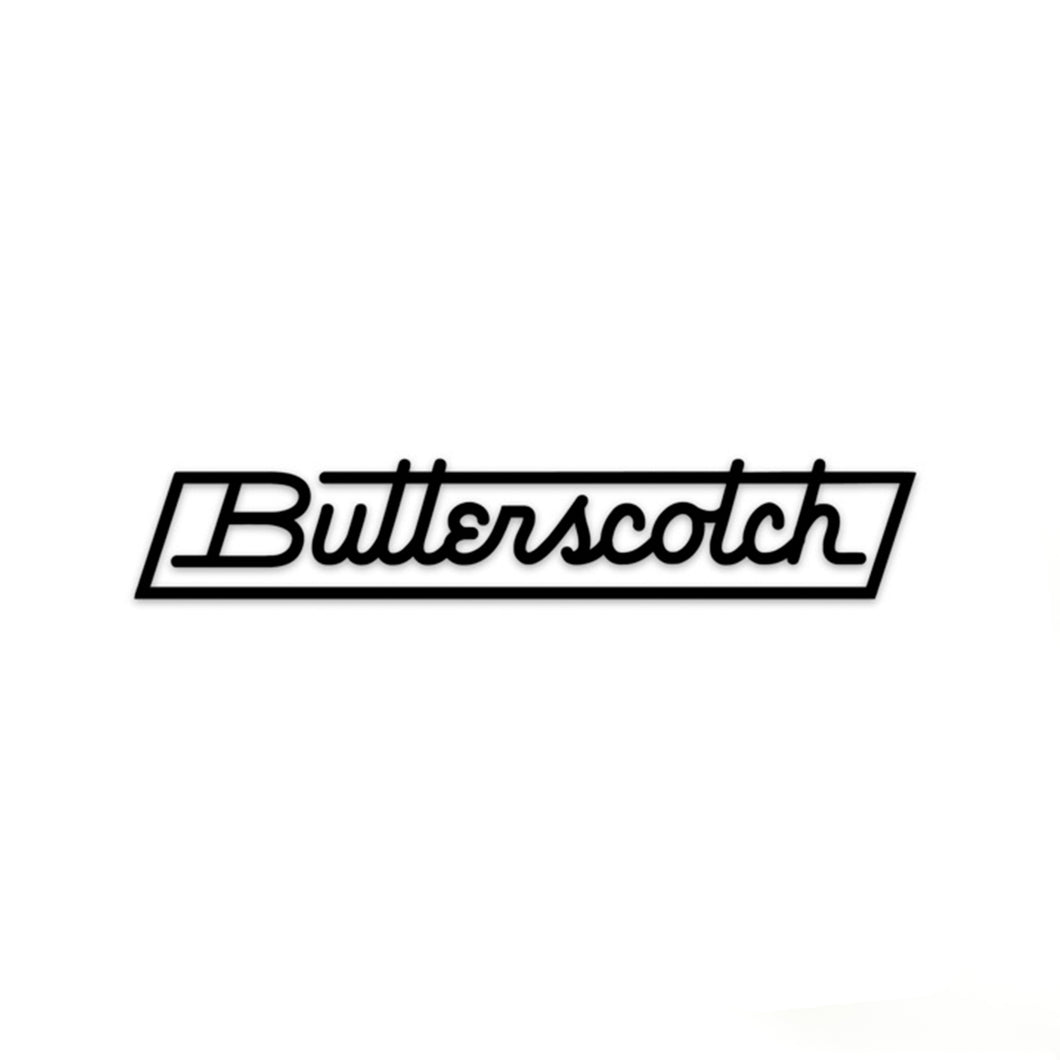 ButterScotch - Transfer Sticker - Black