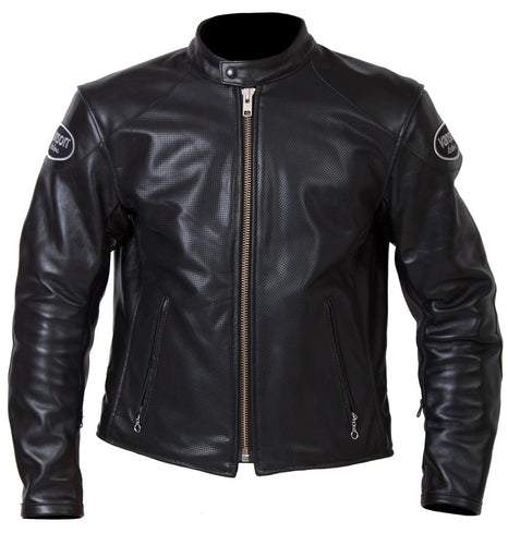 Vanson - DRAC - Perforated Z150 - Black