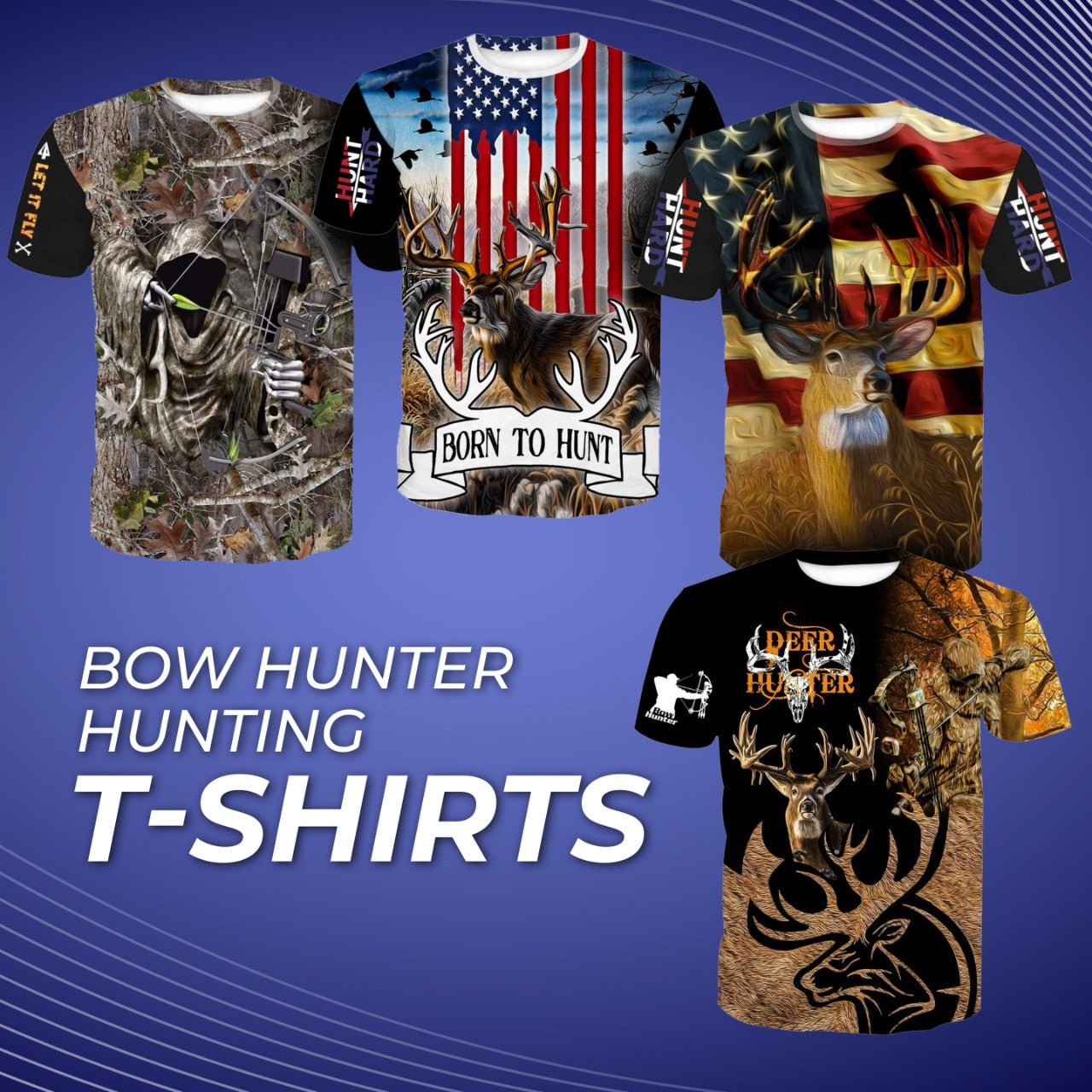 Discover Trendy Hunting Tee-Shirts