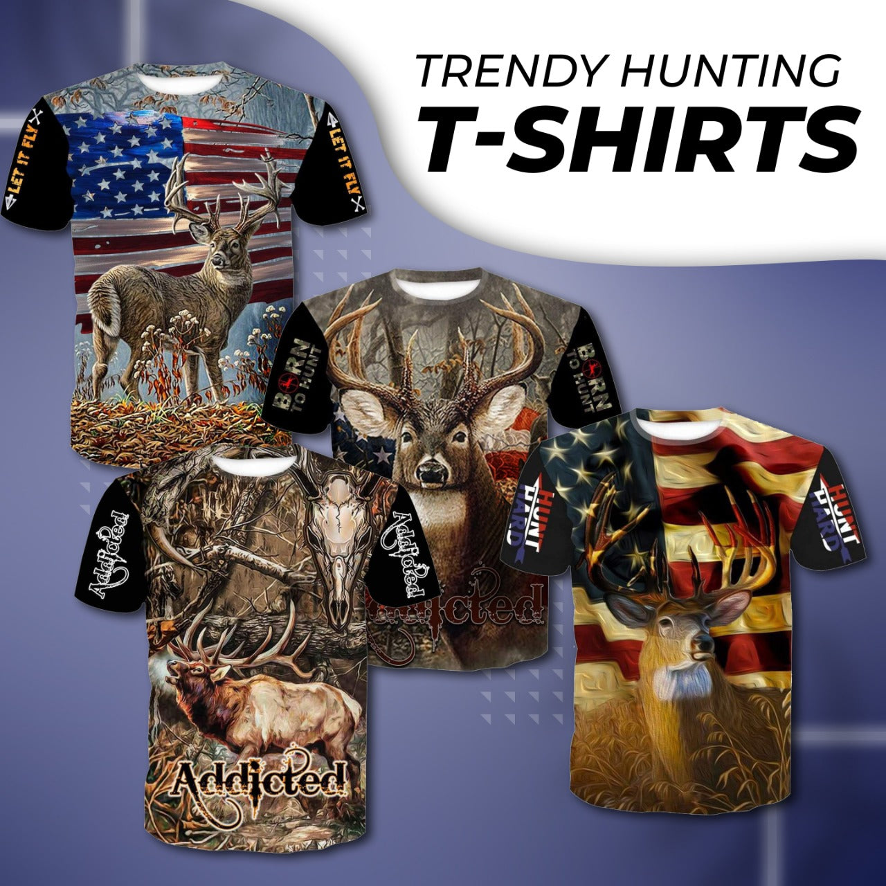 Explore Trendy Hunting T-shirts for Men
