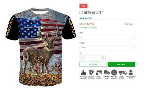 lightweight hunting T-shirt