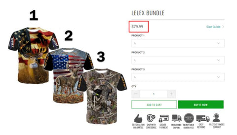 T-shirts from Lelex Bundle