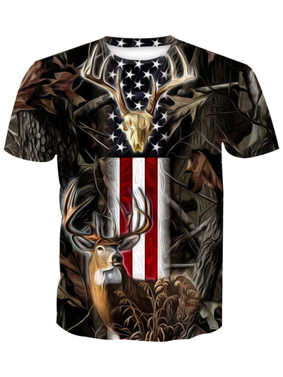 USA Proud Whitetail Hunter