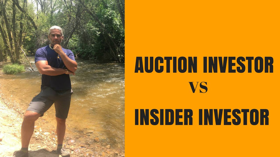 Auction Investor VS Insider Investor
