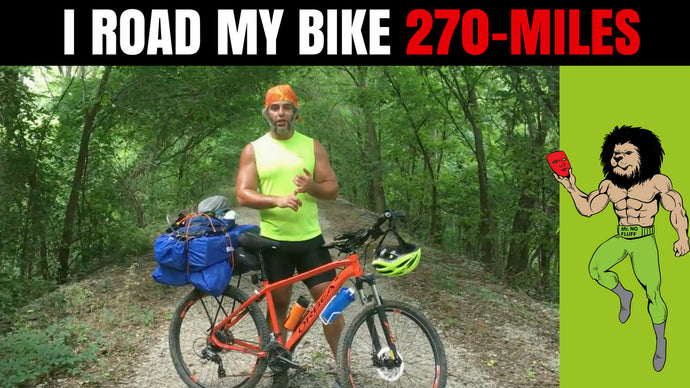 I ROAD MY BIKE 270 MILES (Entrepreneur Lessons From a 270-Mile Bike Ride)