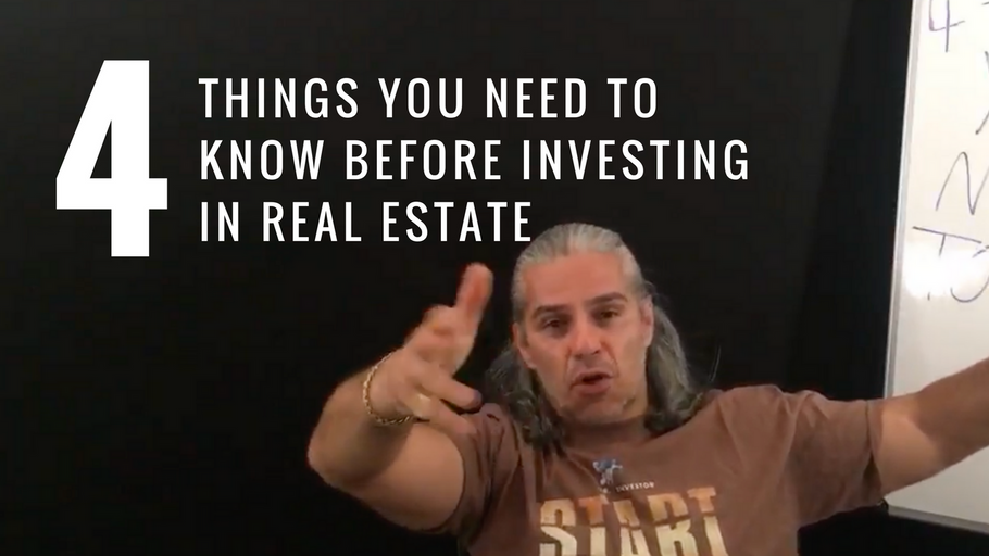 3 things you need to know before investing in real estate