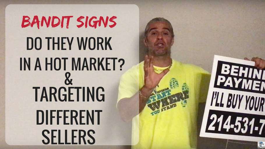 Case Study: Do Bandit Signs Work in Booming Market and Targeting Different Sellers