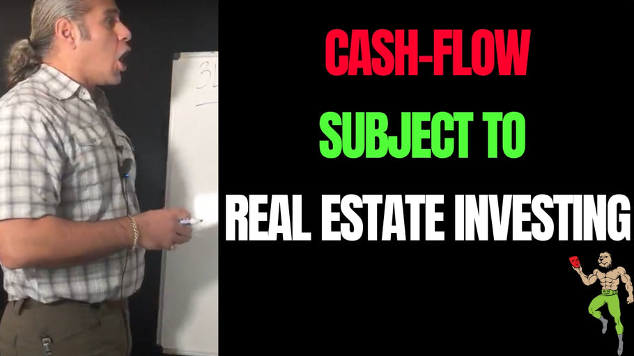 Cash-flow Subject-To Explained Simply in Economic Collapse 2020 | Subject To Real Estate Investing