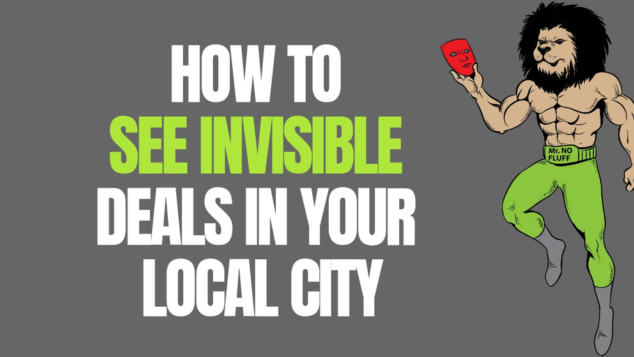 How to See Invisible Deals In Your Local City