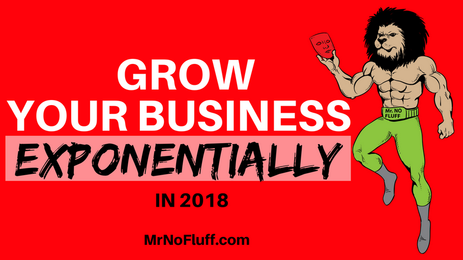 Grow Your Business Exponentially in 2018