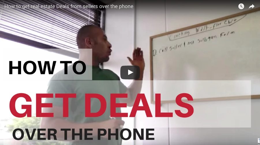 How To Get Real Estate Deals From Sellers Over The Phone