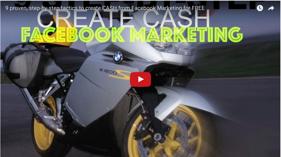 9 proven, Step-by-Step Tactics to Create CASH from Facebook Marketing for FREE