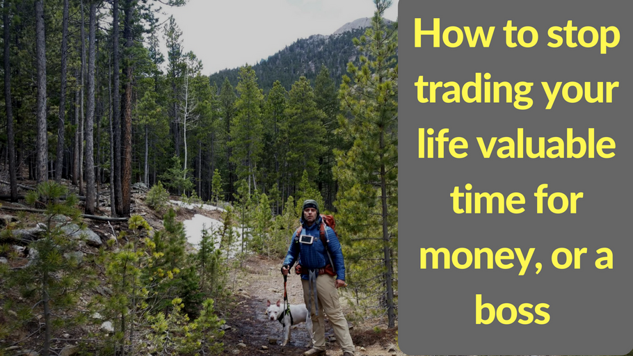 How To Stop Trading Your Life Valuable Time for Fake Dollars to a Fake Boss to Just Sit in Traffic
