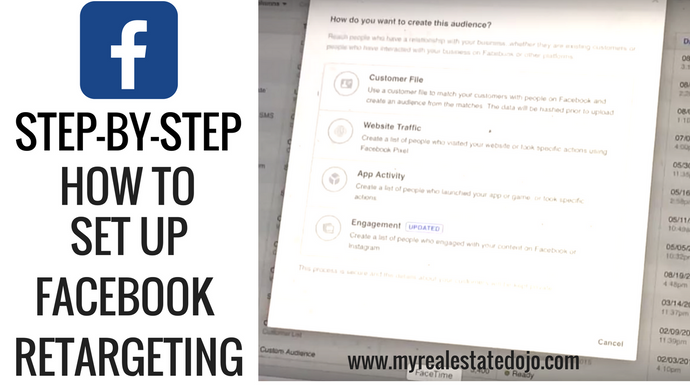 Step-By-Step: How To Set Up Facebook Retargeting