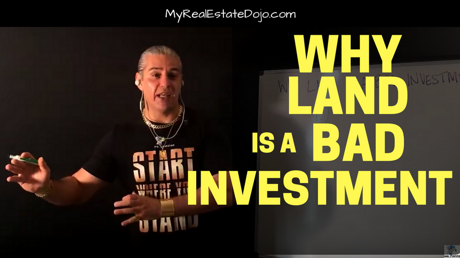 Why Land is a Bad Investment