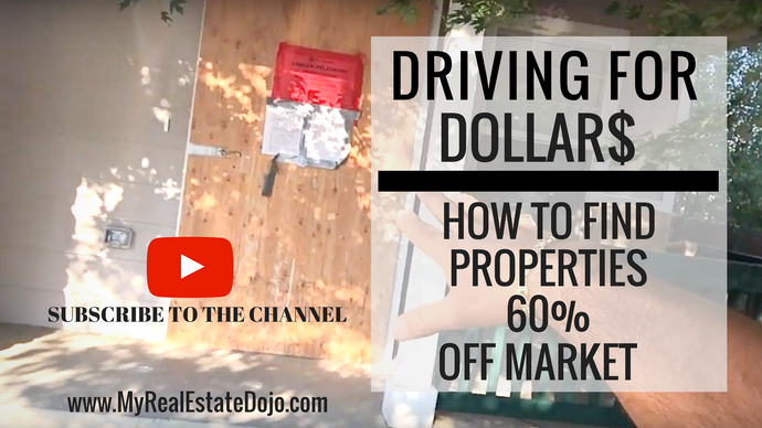Driving For Dollars:How To Find Properties 60% Off Market
