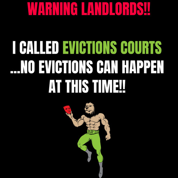 WARNING LANDLORDS! I CALLED EVICTION COURTS TODAY, HERE'S WHAT HAPPENED | CORONAVIRUS ECONOMY UPDATE