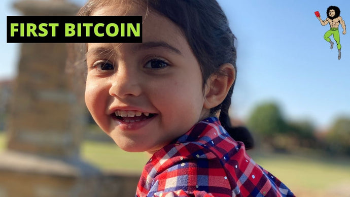 How My Three Year Old Earned Her First Bitcoin