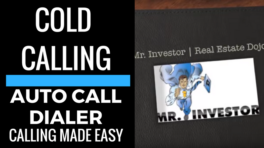 COLD CALLING: Auto Call Dialer, Cold Calling Made Easy!