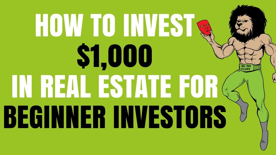 How To Invest $1,000 in Real Estate for Beginners Investors