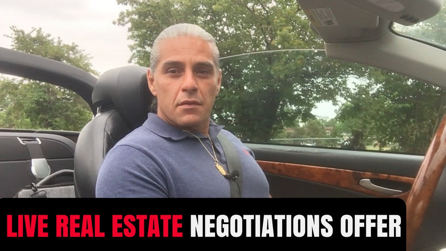 LIVE CALL: Real Estate OFFER Negotiation
