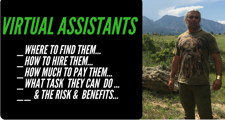 Virtual Assistants: where to find, how to hire, how much to pay, task to do & the risk & benefits