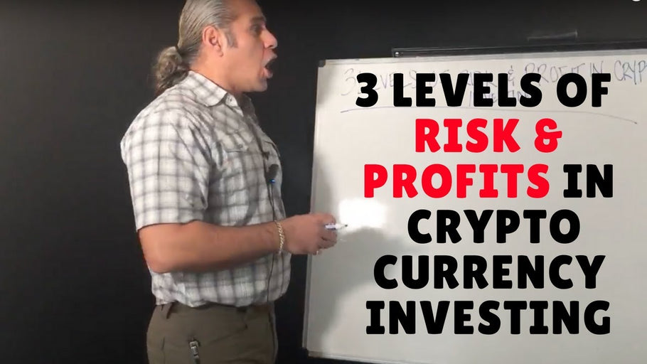 3 Levels of Risk & Profits in Cryptocurrency Investing