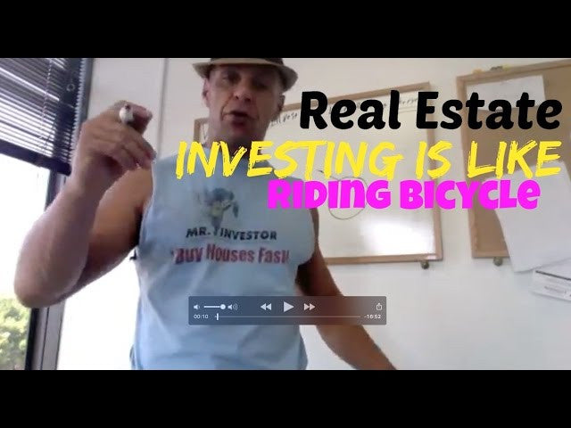 Revolutionary: How Real Estate Investing Is Like Riding Bicycle.