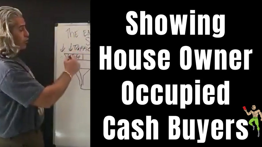 How to Show a 🏡 House (deal) Owner Occupied to Cash Buyers | Real Estate Wholesaling & Subject To