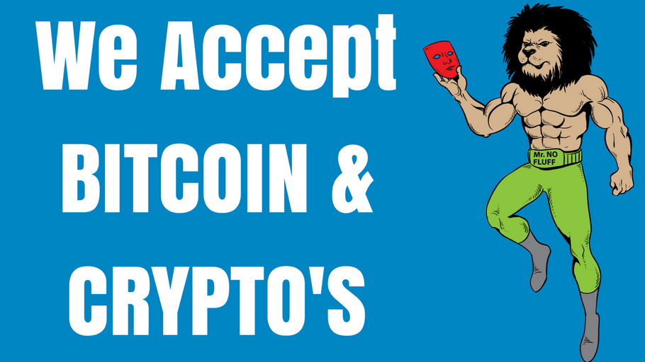 We Accept BITCOIN & CRYPTO'S for all real estate books, course training, coaching