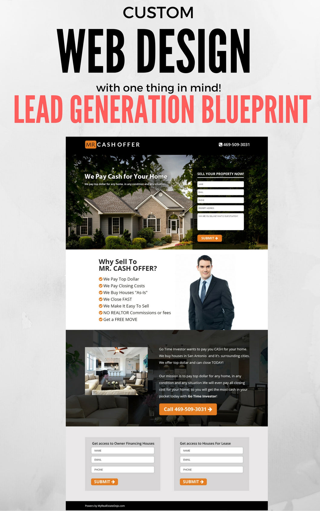 real estate web site investor