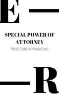 SPECIAL POWER OF ATTORNEY real estate investors