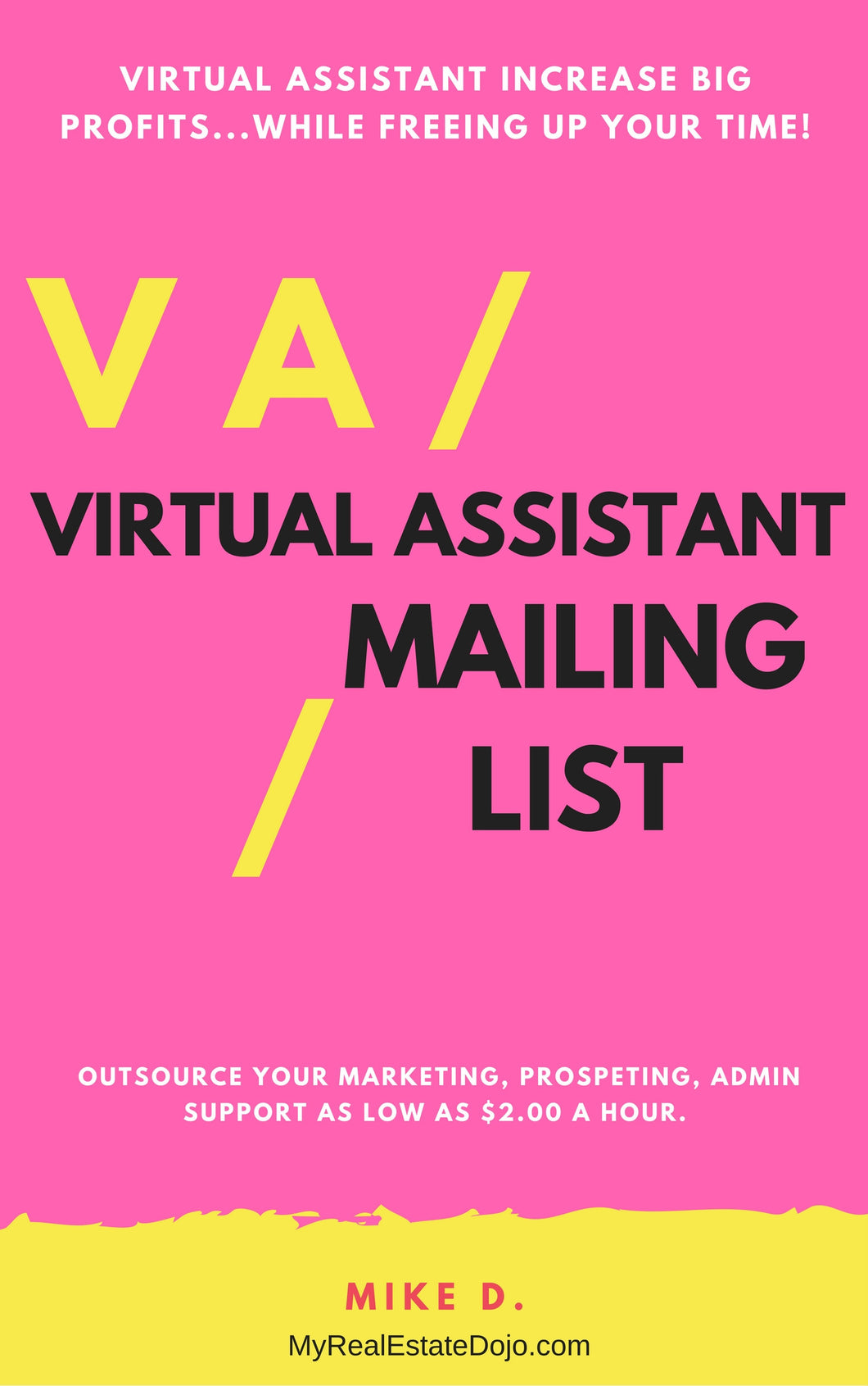 Real Estate VIRTUAL ASSISTANT MAILING LIST