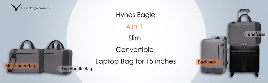 Hynes Eagle 4 in 1 Laptop Bag: Make You Switch Among Work and Life Conveniently