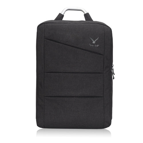 Hynes Eagle Water Ressistant Office Backpack Travel Business Bag College School Laptop Backpack Large 17 inch Black